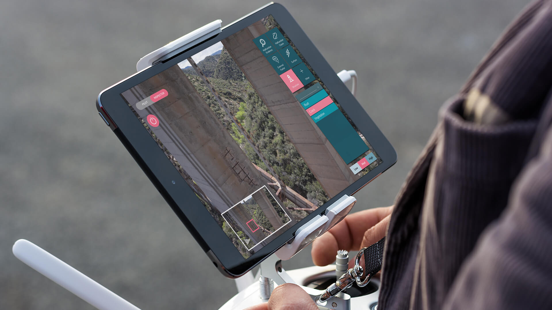 NAR software saves weeks on drone inspection data management for WSP USA & Keystone Aerial Surveys during the Delaware Memorial Bridge inspection.